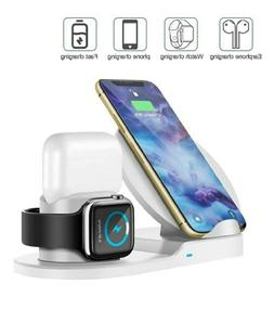 Wireless Charger, 3-in-1 Design Charging Stand Compatible fo