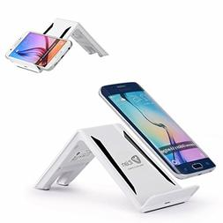 Wireless Charger,Itian Qi 3 Coils Wireless Charging Stand A6
