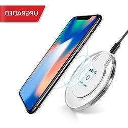 Wireless Charger, DIGI4U QI Wireless Charging Pad for Apple