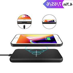ANGELIOX Wireless Charger and Qi Wireless Charging Case for