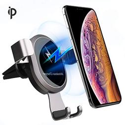 Wireless Charger Car Mount,EASTKING Wireless Car Charger,Air
