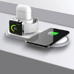 Wireless Charger Charging Station Mount For IPhone/ Apple Wa