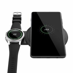 MoKo Wireless Charger Duo Charging Pad for Samsung Galaxy S1