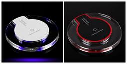 Wireless Charger Fast Charging Qi Dock Pad For iPhone 8 8PLu