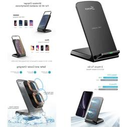 Wireless Charger, Seneo Qi-Certified 10W Fast Wireless Charg