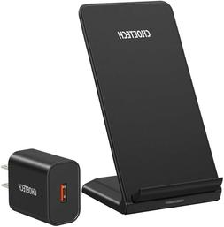 CHOETECH Wireless Charger, Qi-Certified 10W Max Fast Chargin