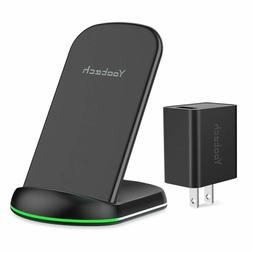 Yootech Wireless Charger, Qi-Certified Wireless Charging Sta