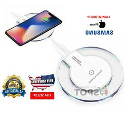 Wireless Charger Qi Universal Slim Charging Pad w Micro USB