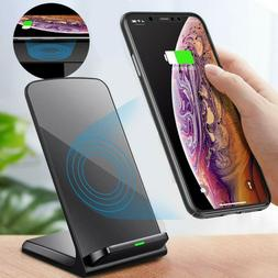 Wireless Charger Stand, Fast Wireless Charging for iPhone X