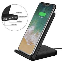 Wireless Charger and USB Charger UPWADE Fast Wireless Chargi