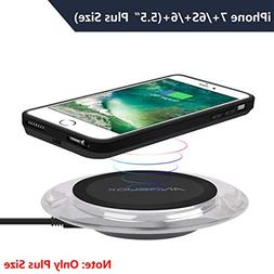 ANGELIOX Wireless Charger with Qi Wireless Charging Receiver
