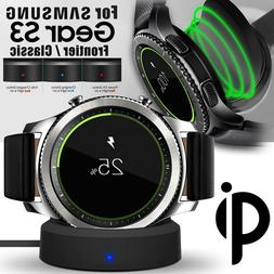 Wireless Charging Dock Cradle Charger Kit for Samsung Gear S