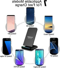 Pleson Wireless Charging Pad QI Fast Charger iPhone XS XR X