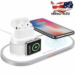 Wireless Charging Station Charger Pad iPhone Xs Max/XR/X /8/