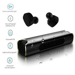 True Wireless Earbuds Bluetooth Sports Earphones with chargi