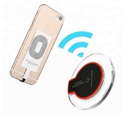 Qi Wireless Fast Charger Dock Charging Pad + 2Receivers For