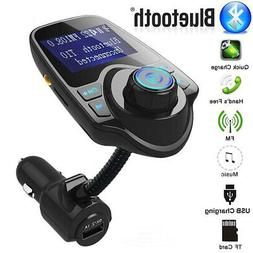 Wireless In-Car Bluetooth FM Transmitter MP3 Radio Adapter K